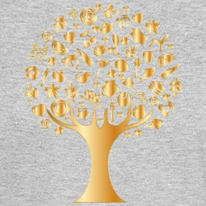Luxury Tree - Men's Long Sleeve T-Shirt