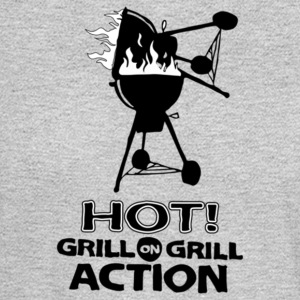 Hot Grill on grill action - Men's Long Sleeve T-Shirt