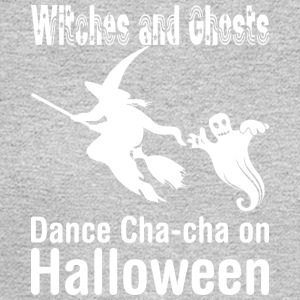 Witches And Ghosts Dance Chacha On Halloween - Men's Long Sleeve T-Shirt