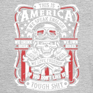 This Is America Tee Shirt - Men's Long Sleeve T-Shirt
