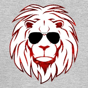 Lion with sunglasses - Men's Long Sleeve T-Shirt