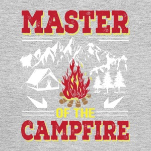 Master Of The Campfire Funny Camping Shirt - Men's Long Sleeve T-Shirt