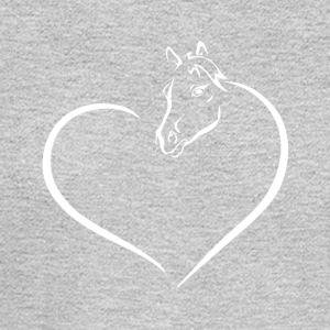 HEART HORSE - Men's Long Sleeve T-Shirt