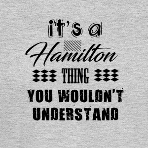 It's A Hamilton Thing - Musical Design - Men's Long Sleeve T-Shirt