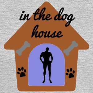 in the dog house - Men's Long Sleeve T-Shirt