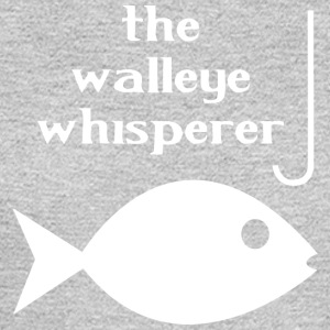 Walleye whisperer fishing - Men's Long Sleeve T-Shirt
