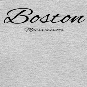 Massachusetts Boston US DESIGN EDITION - Men's Long Sleeve T-Shirt