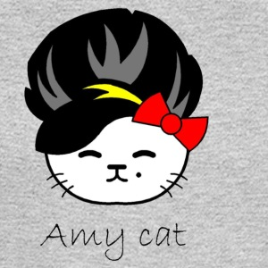 Amy cat - Men's Long Sleeve T-Shirt