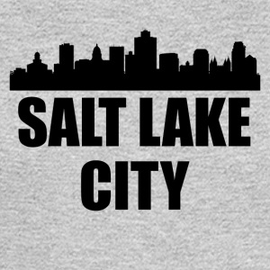 Salt Lake City UT Skyline - Men's Long Sleeve T-Shirt