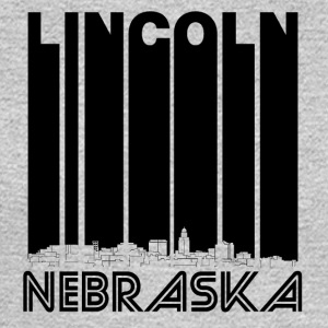 Retro Lincoln Nebraska Skyline - Men's Long Sleeve T-Shirt