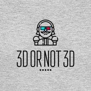 3D or not 3D - Men's Long Sleeve T-Shirt