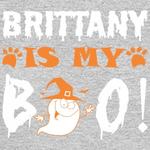 Brittany Is My Boo Happy Halloween - Men's Long Sleeve T-Shirt