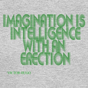 Intelligence with an erection - Men's Long Sleeve T-Shirt