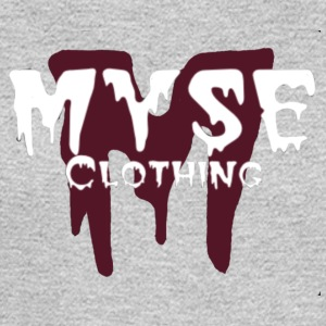 MYSE Logo burgundy - Men's Long Sleeve T-Shirt