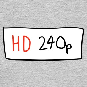 HD 240p - Men's Long Sleeve T-Shirt