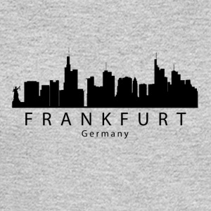 Frankfurt Germany Skyline - Men's Long Sleeve T-Shirt
