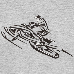 sled bike - Men's Long Sleeve T-Shirt