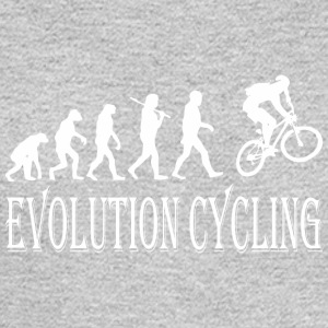 Evolution Cycling Cycle - Men's Long Sleeve T-Shirt