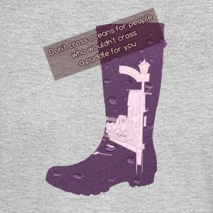 Gummy Boot lilac - Men's Long Sleeve T-Shirt
