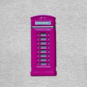 phone booth purple - Men's Long Sleeve T-Shirt