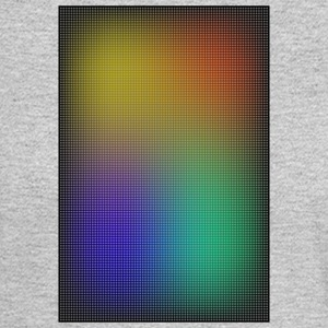 gradient colored grid out of points - Men's Long Sleeve T-Shirt