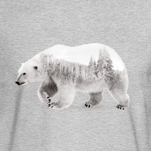 Arctic Bear - Men's Long Sleeve T-Shirt