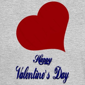 Happy-Valentines Day-heart-love - Men's Long Sleeve T-Shirt