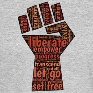 Liberate - Fist - Men's Long Sleeve T-Shirt