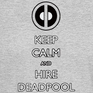 Keep calm and hire deadpool - Men's Long Sleeve T-Shirt