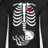 Gladditudes Maternity Skeleton Top 2012 - Men's Long Sleeve T-Shirt