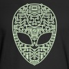 Alien Circuit Board  - Men's Long Sleeve T-Shirt