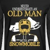 Snowmobile Shirt - Men's Long Sleeve T-Shirt