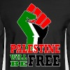 Palestine Free - Men's Long Sleeve T-Shirt
