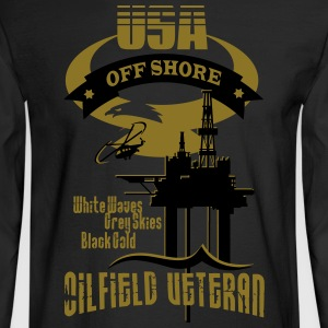 USA Oilfield Veteran - Men's Long Sleeve T-Shirt