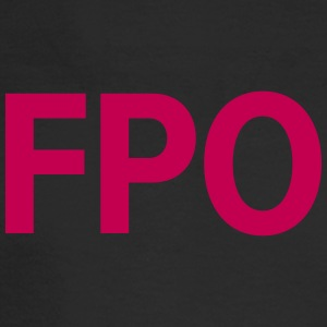 FPO — For Placement Only - Men's Long Sleeve T-Shirt