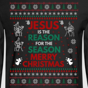 UGLY CHRISTMAS SWEATERS, T-SHIRTS, AND GIFT ITEMS - Men's Long Sleeve T-Shirt