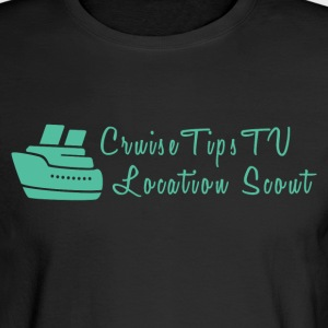 Cruise Tips TV Location Scout - Men's Long Sleeve T-Shirt