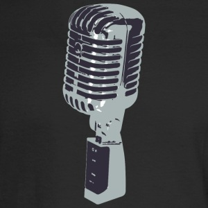 microphone - Men's Long Sleeve T-Shirt