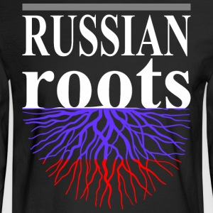 Russian Roots Tshirt - Men's Long Sleeve T-Shirt