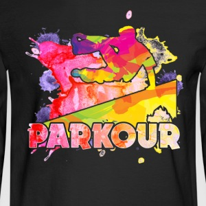 Play Parkour Shirt - Men's Long Sleeve T-Shirt