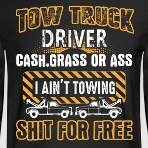 Tow Truck Driver Shirts - Men's Long Sleeve T-Shirt