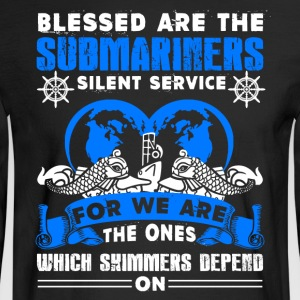 Blessed Are The Submariners Shirt - Men's Long Sleeve T-Shirt