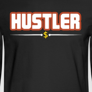 hustler t-shirt - Men's Long Sleeve T-Shirt