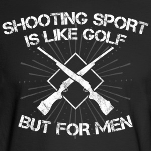 Shooting Sport/Shooting Range/Shooter/Sharpshooter - Men's Long Sleeve T-Shirt