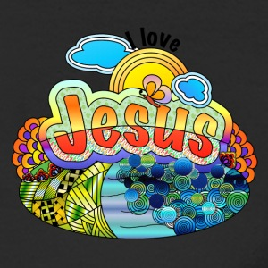 I Love Jesus - Men's Long Sleeve T-Shirt