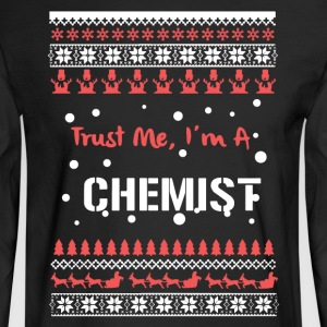 Chemist Christmas Shirt - Men's Long Sleeve T-Shirt