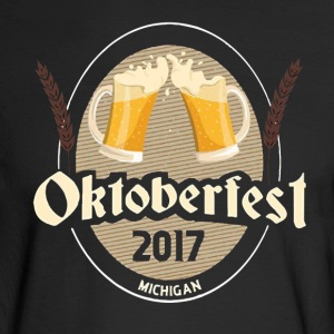2017 Oktoberfest - Michigan - Men's Long Sleeve T-Shirt