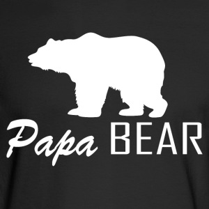 Papa Bear - Men's Long Sleeve T-Shirt