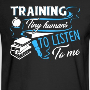 TRAINING TINY HUMANS SHIRT - Men's Long Sleeve T-Shirt