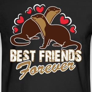 BEST FRIENDS FOREVER SHIRT - Men's Long Sleeve T-Shirt
